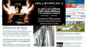 Publicidad en periódico digital