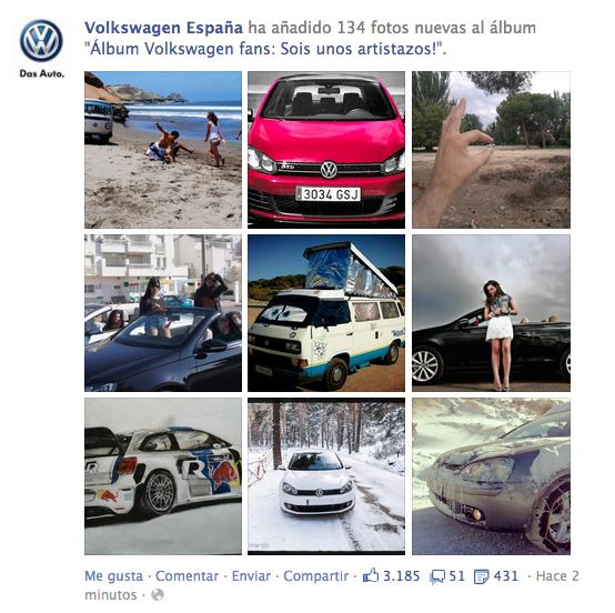Concurso Fotos Volkswagen España