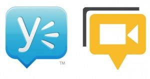 Yammer y Hangout Herramientas de comunicación interna
