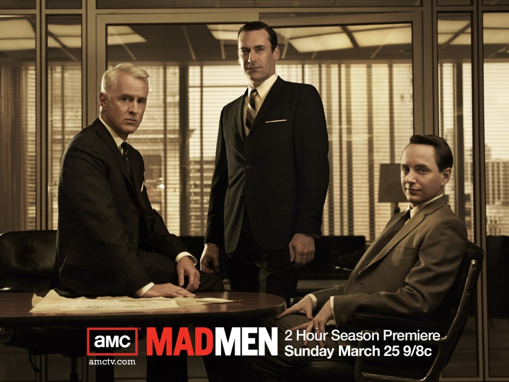 Protagonistas de la serie de HBO, Mad Men