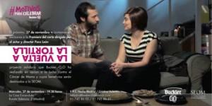 Cartel de la premiere de 'La vuelta a la tortilla'