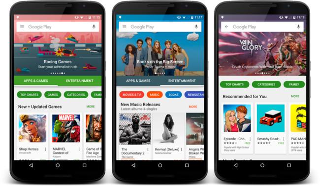 La evolución de la Google Play Store desde 2008 analizada vía Mashable