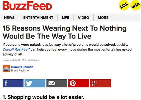 BuzzFeed centra sus esfuerzos en conseguir que la viralidad de sus 'native ads' se transforme en ventas para las marcas
