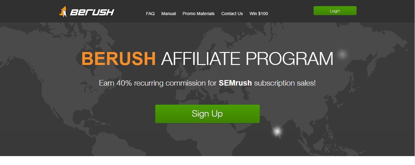 Hay compañias tecnológicas como SemRush que optan por crear sus propios progamas de afiliados y así tener un mayor control.