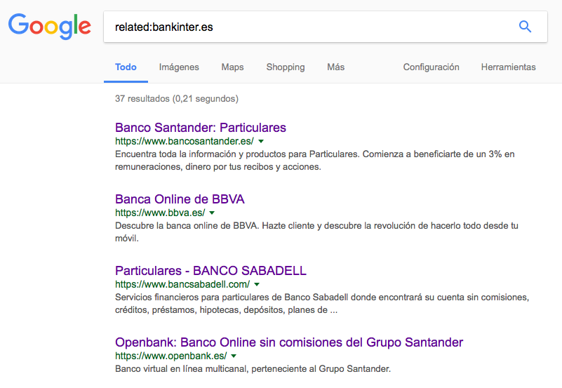 Hack estudio de mercado en Google