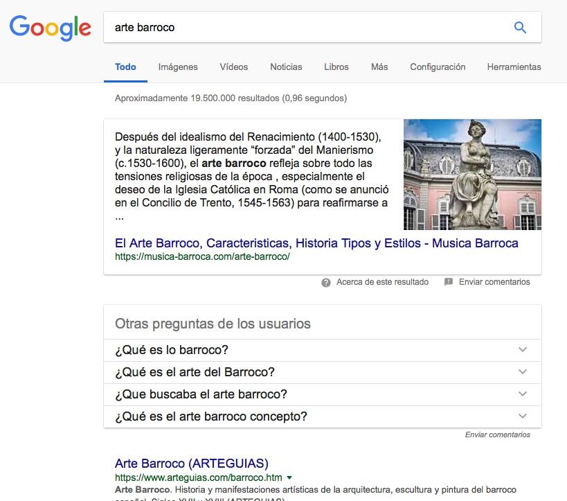Google ordena el conocimiento